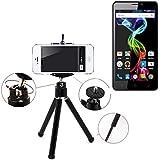 Galleria fotografica Smartphone Tripod / basamento mobile / cavalletto come per Archos 55b Platinum. Alluminio Treppiede / treppiede...