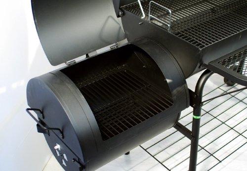 Gas Oder Holzkohlegrill Xxl : Smoker bbq grill xxl grillwagen holzkohlegrill sehr große
