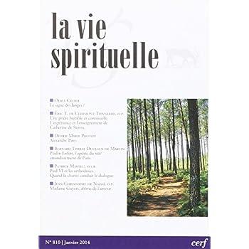 La Vie Spirituelle Numero 810