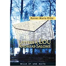Lettres à Lou Andreas-Salomé
