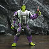 Hulk Puppe Figur, bewegliche Modell Ornamente gehören Headset und Cola -
