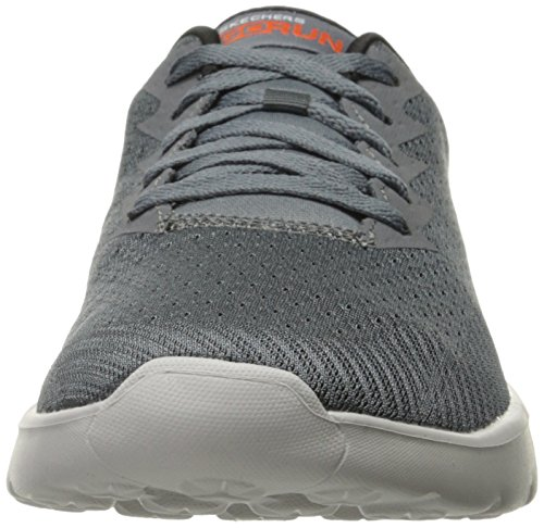 Skechers Herren Go Run 400 Outdoor Fitnessschuhe Charcoal/Orange
