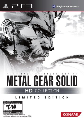 Metal gear Solid HD Collection Limited Edition ps3 Import US