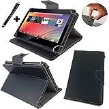 ODYS Intellitab 7Tablet PC Funda/Carcasa Con Función Atril–7pulgadas Negro