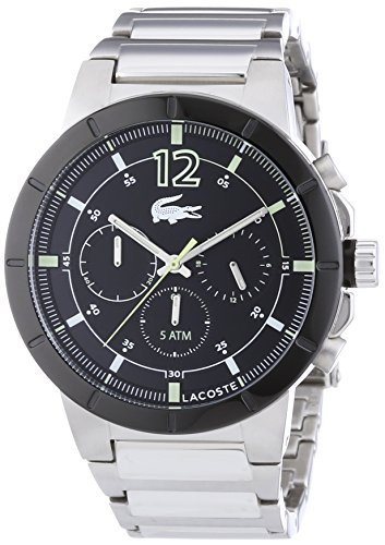 Lacoste Men's Quartz Watch DARWIN 2010744 with Metal Strap