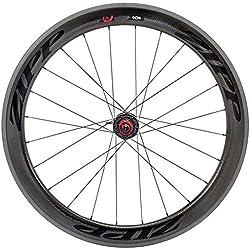 Zipp 404 Firecrest - Rueda para Bicicletas, Color Negro