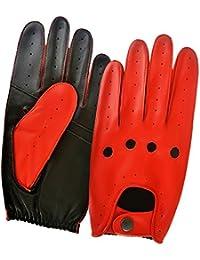 Men's Genuine Leather Fashion Dress Driving Gloves Soft & Comfortable Vintage Retro Style