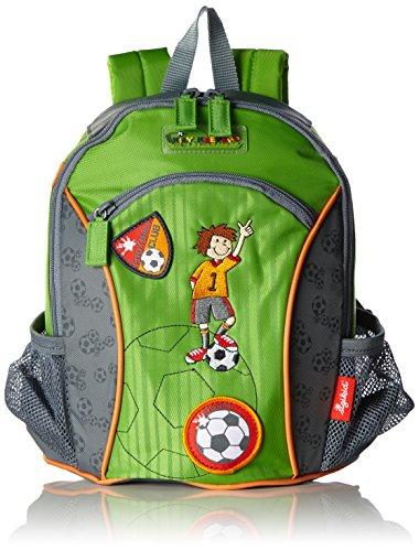 Sigikid, Jungen, Rucksack Mit Motiv Fußballer, Kily Keeper, Grün/grau, 23769