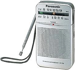 Panasonic FM Radio Speaker Pocket Player, AM FM Dual band receiver.