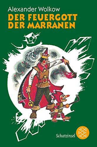 Buchseite und Rezensionen zu 'Der Feuergott der Marranen (Die Wolkow-Zauberland-Reihe)' von Alexander Wolkow