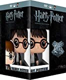 Harry Potter Collection - 8-DVD Box Set & Harry Potter FUNKO Figurine ( Harry Potter and the Sorcerer's Stone / Harry Potter and the Chamber [ Origine Francese, Nessuna Lingua Italiana ]
