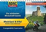 ADAC TourBooks Rheinland & Eifel: Hunsrück, Taunus, Westerwald: Die schönsten Motorrad-Touren - Hans Michael Engelke, Stefan Feldhoff, Heinz E. Studt