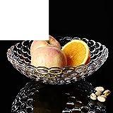 Glas Obstschale Couchtisch Ornamente Dekorative Schalen Europäische kreative Obstteller Salatteller bowls-A
