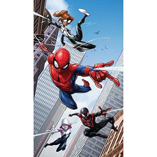 Bebegavroche tenda dimensioni l spider-man lancia la sua tela di marvel 140cm x 245cm