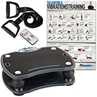 skandika Home 500 Vibration Plate UK Edition - Anthracite/Black, 56 x 50 x 20 cm, 1087-GB