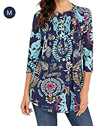Swb7o4r Abbigliamento Donna Bluse Amazon Shirt T It E Top Bohemien 676AqT