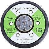 'Timbertech Assiettes Tête 6abrasive pour ponceuse pneumatique à disque de qualité abrasive meule, 12000tours/min