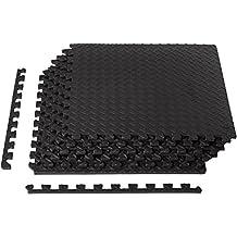 AmazonBasics - Esterilla de ejercicios con piezas interconectables de espuma EVA