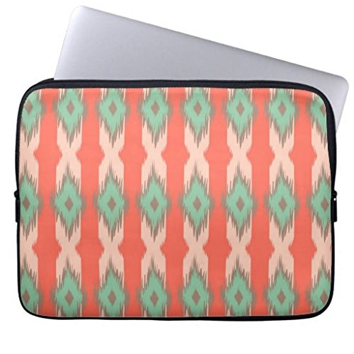 11.6-12 Inch Laptop Sleeve Cute Tribal Geometric Ikat Girly Abstract Aztec Pattern Notebook Computer Case for Apple MacBook Acer Samsung Ultrabook Asus Fujitsu Lenovo HP Sony Toshiba Powerbook (Acer-laptop-tasche Aztec)