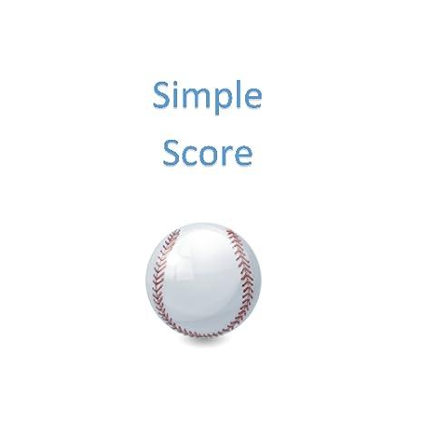 Simple Score for Softball/Baseball