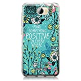 CASEiLIKE Huawei Y5 II Hülle, Huawei Y5 II TPU Schutzhülle Tasche Case Cover, Fiori Che Sbocciano Turchese 2249, Kratzfest Weich Flexibel Silikon für Huawei Y5 II / Y5 2 / Honor 5 / Honor Play 5 / Honor 5 Play