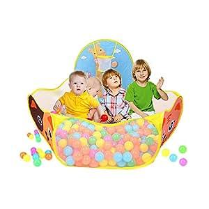 Bambini tenda gioco pieghevole piscina di palline - Amazon piscina bambini ...