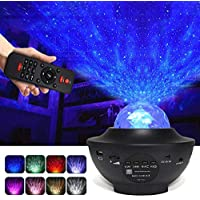 Night Light Galaxy Projector, 3 in 1 Star Projector with Bluetooth Music Speaker/Timer, LED Nebula Cloud for Baby Kids Bedroom/Game Rooms/Home Theatre/Night Light Ambiance