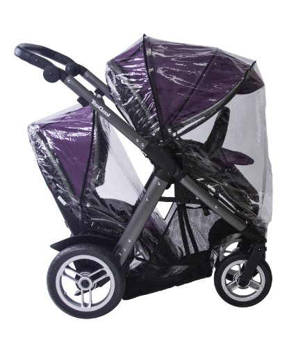 JOOVY Too Qool Rain Cover, Clear