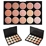Cosmetics Cream Concealer Palette, KRABICE 15 Color Makeup Dark Circle Concealer Cream Make Up Foundation Makeup Palette Set #2
