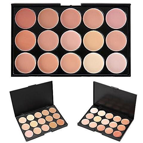 Palette de correcteur de crème pour cosmétiques, KRABICE Maquillage de maquillage 15 Maquillage de maquillage #2