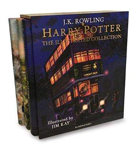 Harry Potter - The Illustrated Collection: Three magical classics por J.K. Rowling