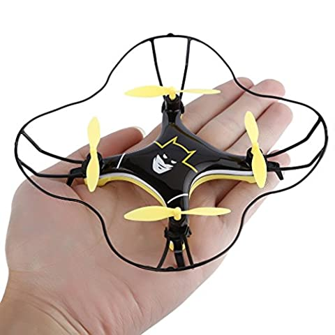 RC Quadcopter Helicopter Mini Drone 3D Rolling mode Remote Control Toys One Key to Return,FPVRC Mini UFO Aircraft 2.4G 4CH 6 Axis Headless mode Nano Airplane