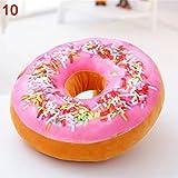 Donut Kissen 40 cm Super Softes Dekokissen dekoratives Zierkissen Sitzkissen Extra Dick und Extra Flauschig Variante Wählbar