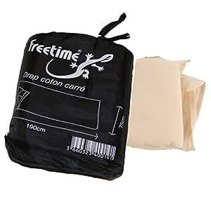 drap sac viande coton pour sacs de couchage sac d 39 appoint freetime sports et loisirs. Black Bedroom Furniture Sets. Home Design Ideas