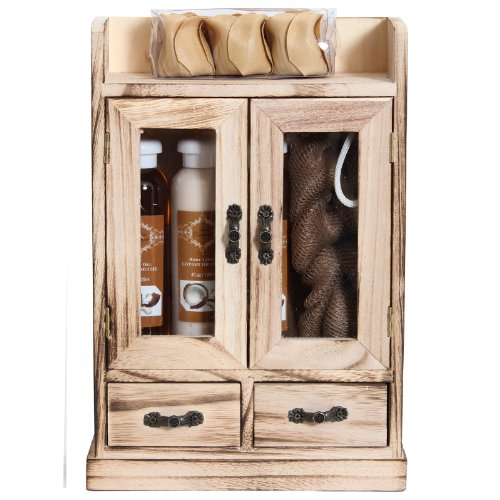 BRUBAKER Cosmetics 'Coconut Vanilla' Bath and Body Gift Set (15 Pieces)