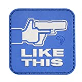 VIPER LIKE THIS MORALE PATCH AIRSOFT MORAL PATCH VELCRO BACKED