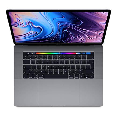 "Apple MacBook Pro (15"" Retina, Touch Bar, 2.6GHz 6-Core Intel Core i7, 16GB RAM, 512GB SSD) - Space Grey (Latest Model)"