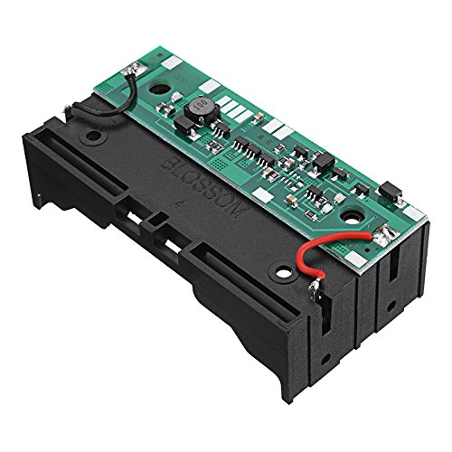LaDicha 18650 Lithium-Batterie-Boost Modul 12V Charging Ups Ununterbrochener Schutz Integriertes Board Mit Fall