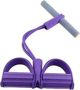 OhhGo Corde de Tension Multi-Fonction /élastique p/édale Bande de r/ésistance Fitness Sit-up Pull Corde pour la Maison Sport Fitness Minceur Formation