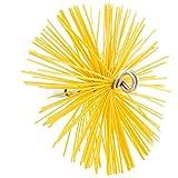 Feu Net 1/210002 Hérisson nylon rond 200mm, Jaune