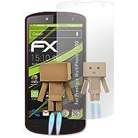 atFoliX Protección de Pantalla para Prestigio MultiPhone 7500 Lámina protectora Espejo - FX-Mirror Protector Película con efecto espejo