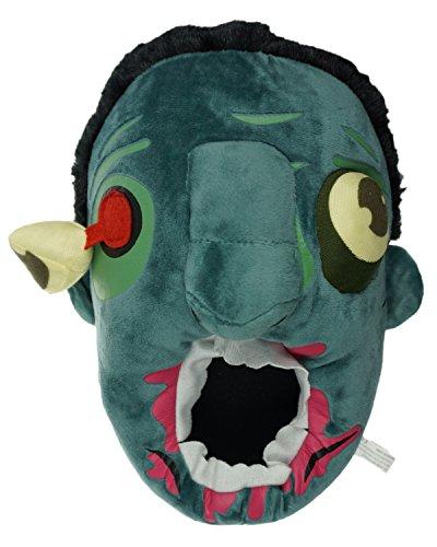 Minetom Unisex Herbst Winter Tierhausschuhe Plüsch Hausschuhe Pantoffeln Kostüme Warme Puschen (Zombie L (EU 39-43))