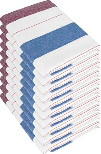10-x-torchon-chiffon-sec-avec-coton-haute-puissance-daspiration-new-red-55-x-75-cm