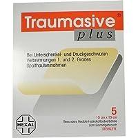 TRAUMASIVE plus 15x15 cm Hyd 5 St Verband preisvergleich bei billige-tabletten.eu