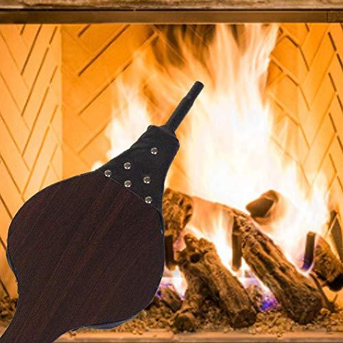 10022293 20x20x68 cm Negro Relaxdays Juego de Utensilios de Chimenea Con Soporte