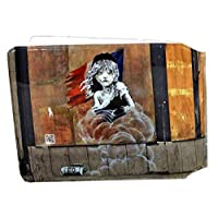 Banksy Les Miserables Slim line Bus Pass Wallet Credit Travel Rail Ticket Card Holder for Oyster Business ID Card (1x Banksy Les Miserable Wallet)