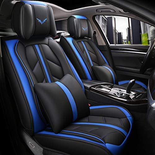 Coprisedile universale auto Coprisedili for auto 5 posti Set completo universale in pelle Sport Style for BMW F10 F11 F15 F16 F20 F25 F30 F34 E60 E70 E90 3 gennaio 5 4 7 Serie GT X1 X3 X4 X5 X6