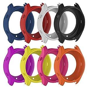 Miss-an Silikon Schutzhülle, für Samsung Gear S3 Klassische Samsung Galaxy Watch 46 mm R800 Smart Watch Schutzhülle