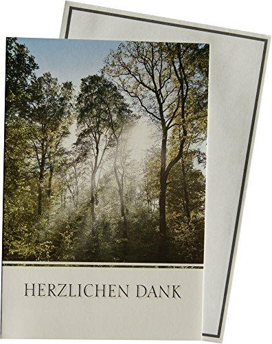 Danksagungskarten Trauer Klappkarten mit Innentext 81-H2702-0