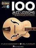 John Heussenstamm/Paul Silbergleit: 100 Jazz Lessons (Buch & 2 CD) (Guitar Lesson Goldmine)